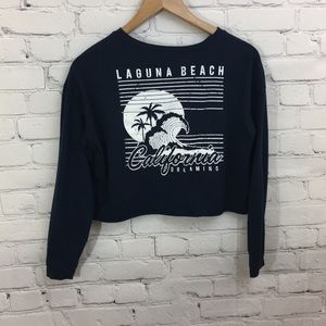 California Dreaming Long Sleeve Crop Top